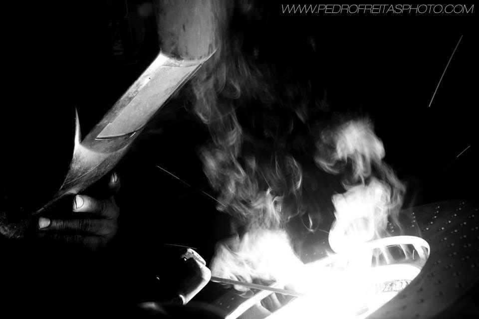 soldadura de ferro fundido